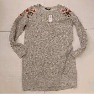NWT Abercrombie & Fitch Sweatshirt Tunic